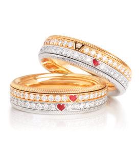 Love's Duet Ring